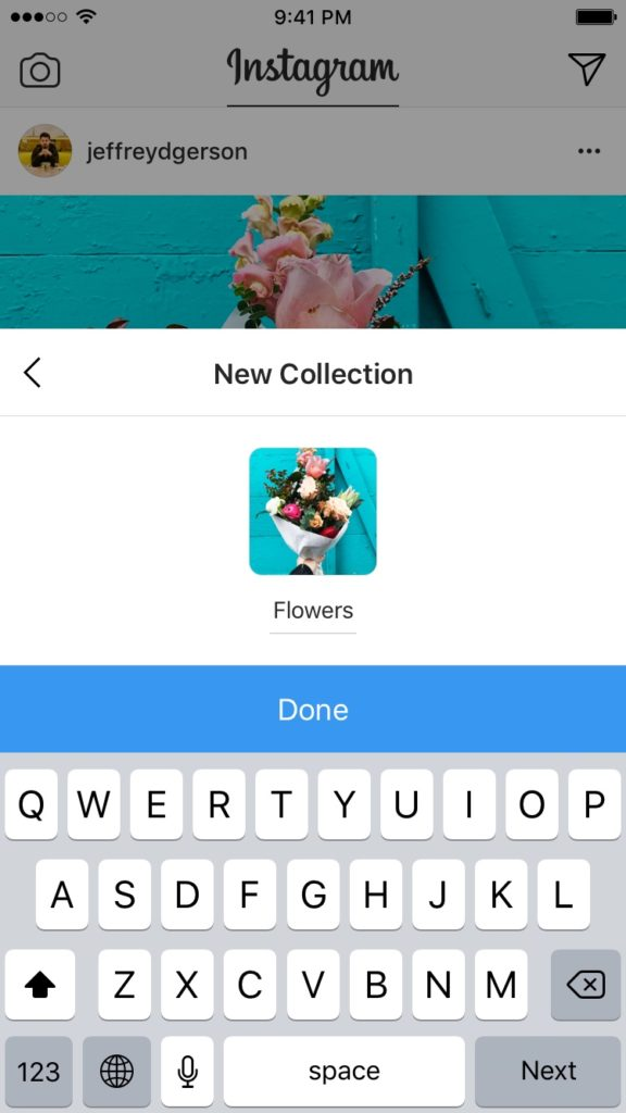 Instagram: Organize your saved posts into private collections