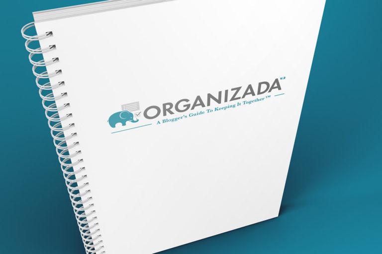 Organizada Blogger Planner