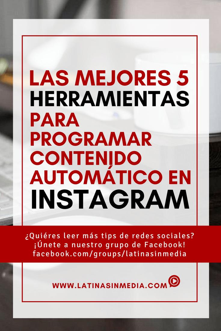 5 herramientas para programar contenido en Instagram | Latinas in Media