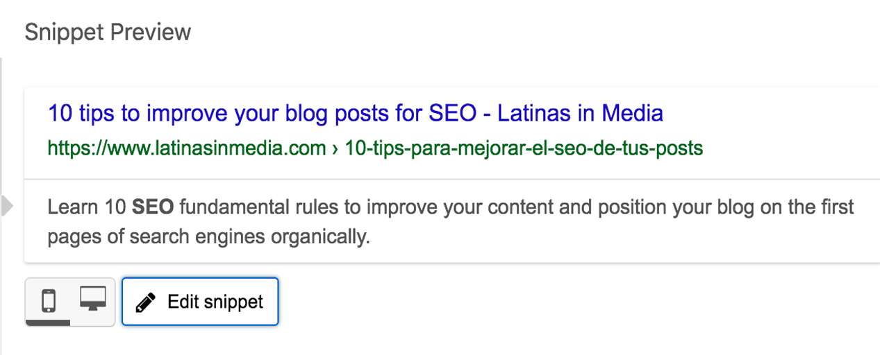 10 tips to improve your blog posts for SEO | Latinas in Media